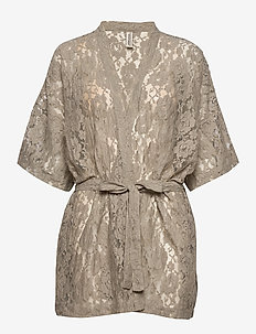 KIRA KIMINO GREY - bathrobes - grey