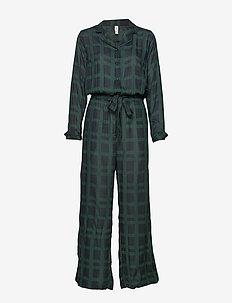 Terry jumpsuit - pyjamas - black