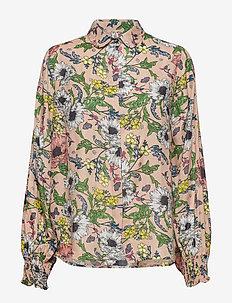 Melina shirt - NUDE