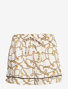 charlize shorts - shortsit - white
