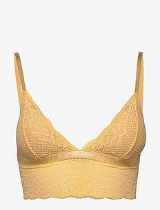 liza bralette - bralette & corset - yellow