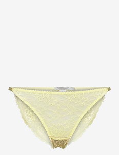 Amy briefs - culottes et slips - yellow