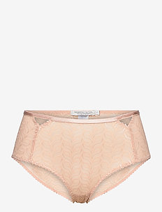 Vivi hipsters - culottes taille basse - warm beige