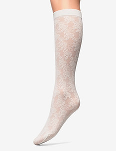 Betty socks - strümpfe - creme