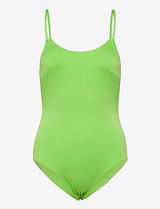 Adrianna swimsuit - stroje kąpielow - lime