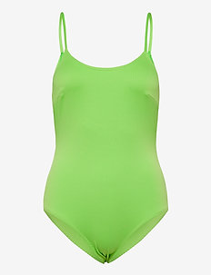 Adrianna swimsuit - baddräkter - lime
