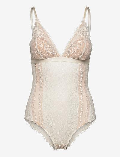Amy bodystocking - bodies & slips - white