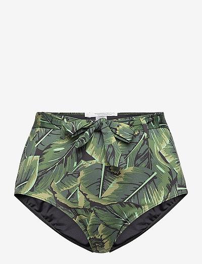 Bianca bikini hipsters - højtaljede bikiniunderdele - green