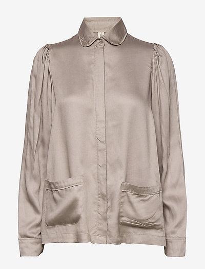 Rana shirt - hauts - grey
