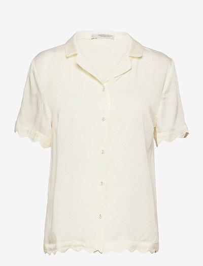 Jane short shirt - hauts - creme