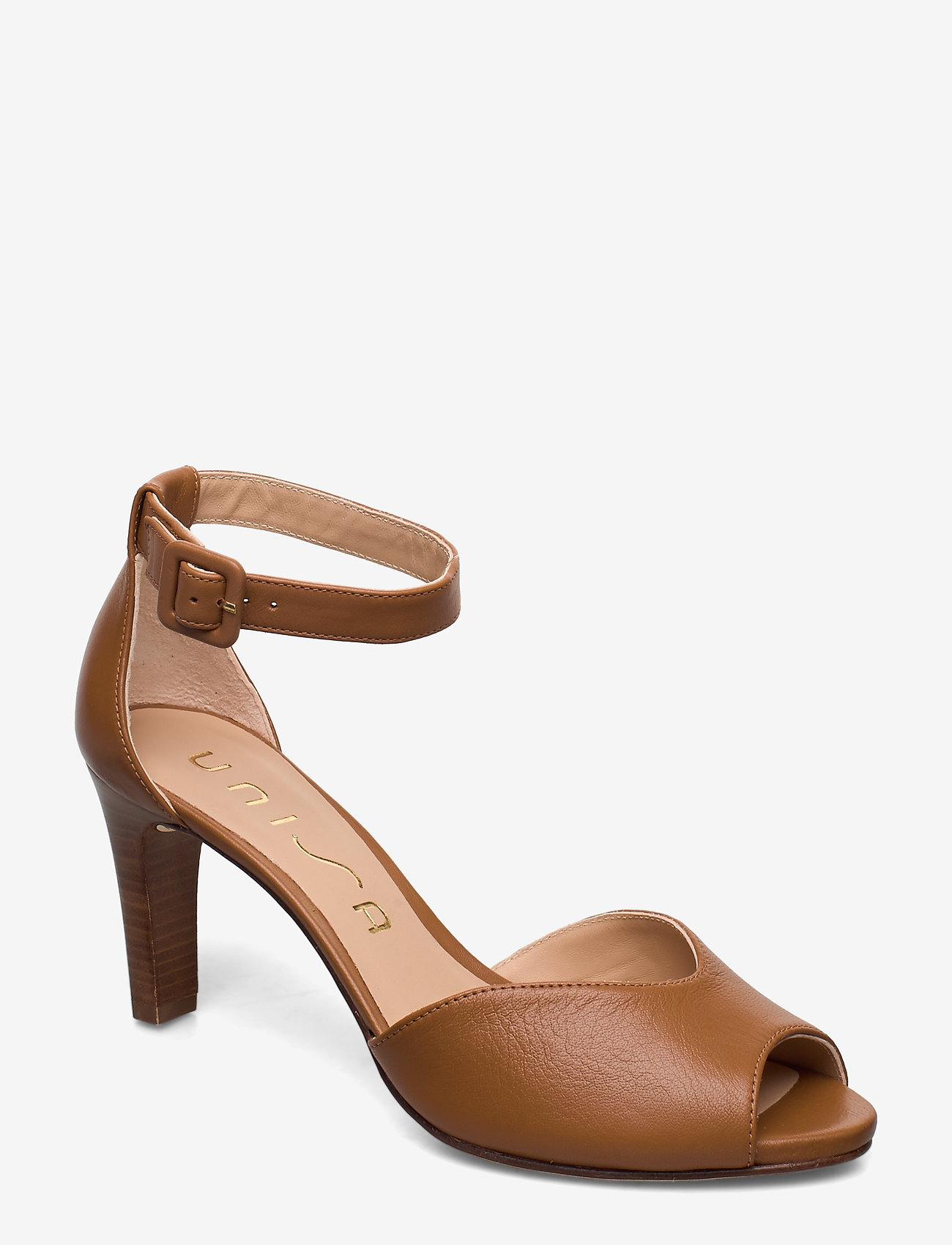 UNISA - LOFT_NA - szpilki peep toe - bisquit - 0