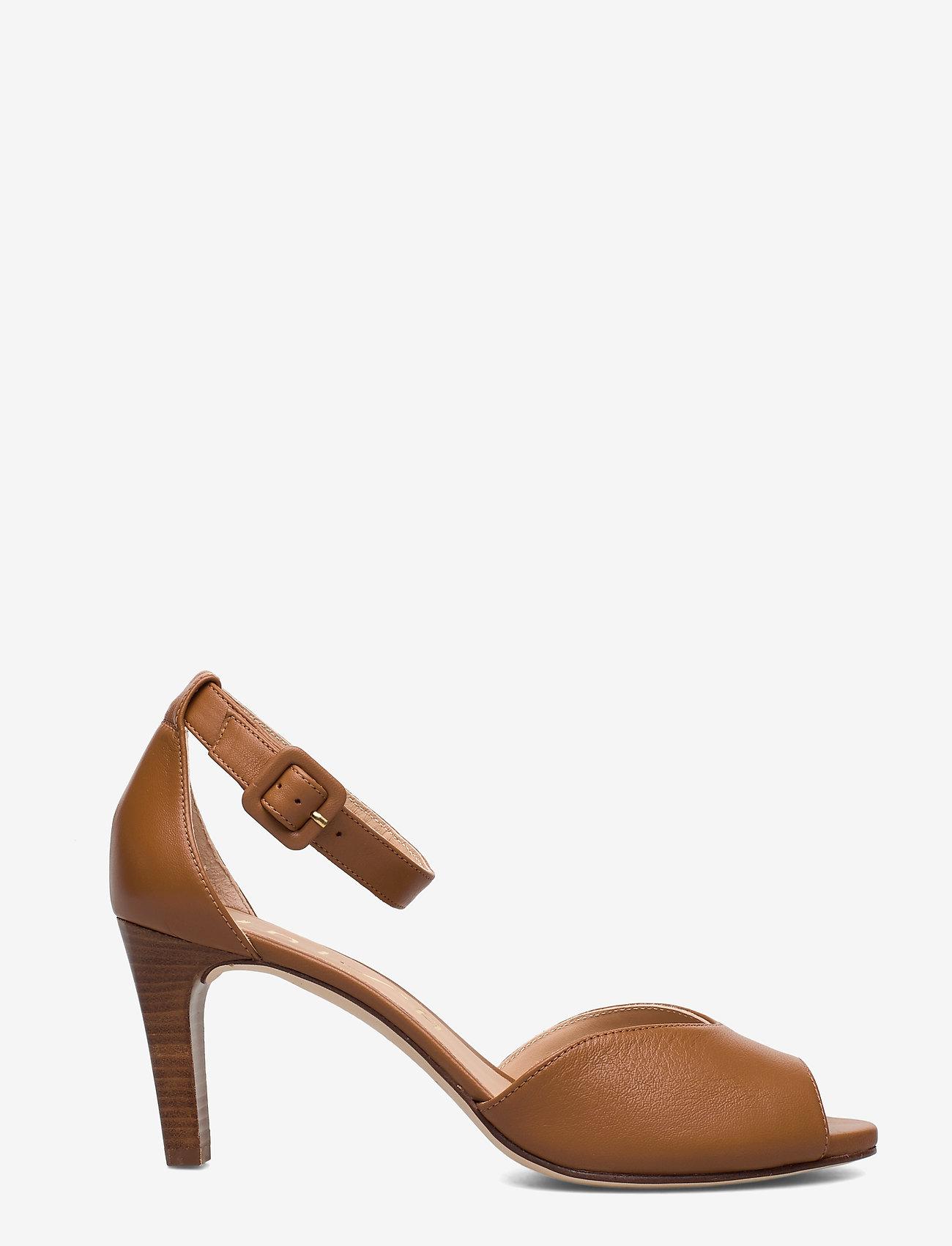 UNISA - LOFT_NA - szpilki peep toe - bisquit - 1