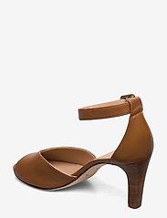 UNISA - LOFT_NA - szpilki peep toe - bisquit - 2