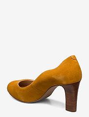 UNISA - NALO_KS - szpilki peep toe - mustard - 2