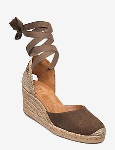 CANDIDA_KS - heeled espadrilles - salvia