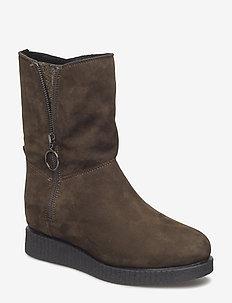 CHURRI_KS_RF - flat ankle boots - hunter