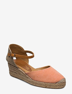 CISCA_20_ECL_CAN - heeled espadrilles - orang/pump