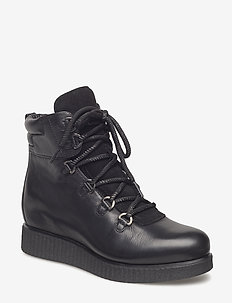 CLAUS_STY_KS - flat ankle boots - black