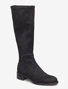 ELIARO_ST - long boots - blk/grafit