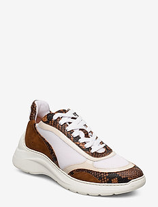 ESCACE_20_MULTI - low top sneakers - teka/cuir