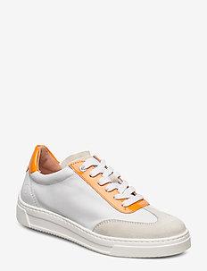 FELIS_NF_PA - low top sneakers - whit/orang
