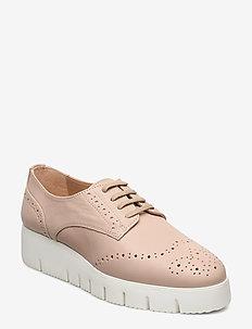 FERRAZ_STY - buty sznurowane - pale