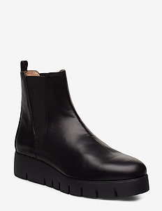 FRISA_NA - flat ankle boots - black
