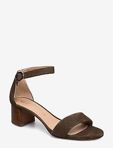GELETE_KS - heeled sandals - salvia