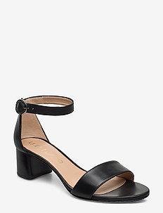 GELETE_NS - heeled sandals - black