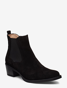 GREYSON_BS - ankle boots with heel - black