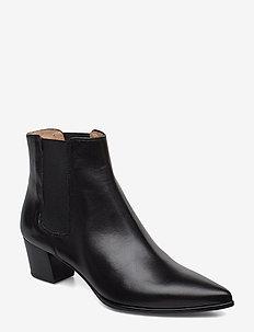 JISTE_F19_NA - ankle boots with heel - black