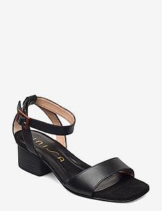 KRUCES_RAN - højhælede sandaler - black