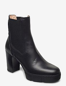 KUBEL_NF - ankelstøvletter med hæl - black