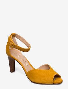 LOFT_KS - heeled sandals - mustard