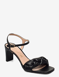 MANDAY_NS - højhælede sandaler - black