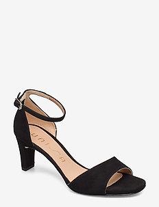MIDAS_20_KS - sandały na obcasie - black