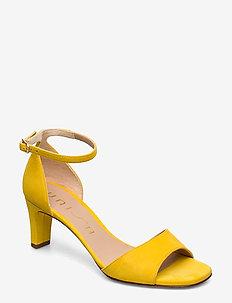 MIDAS_20_KS - heeled sandals - limone
