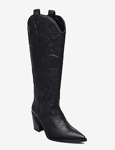 MIRABEL_CRE - long boots - black