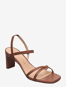 MONI_NS - højhælede sandaler - saddle