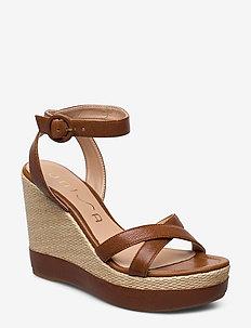 MONTEA_GCR - heeled espadrilles - saddle