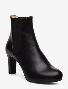 NIRMA_F19_NA - ankle boots with heel - black