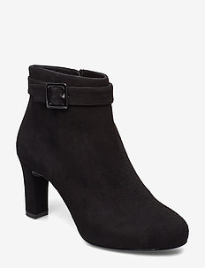 NITRA_KS - ankle boots with heel - black