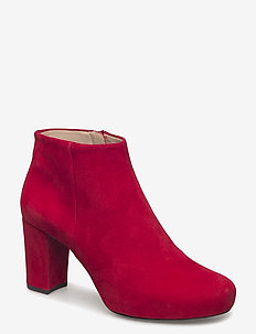 NORTH_KS - ankle boots with heel - chili