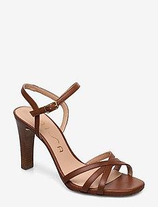 SANTA_NA - heeled sandals - saddle