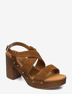 TERRAT_KS - heeled sandals - argan