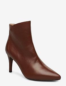 TILO_NA - ankle boots with heel - habana