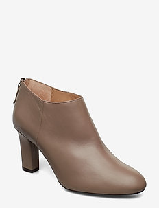 UCHI_NA - ankle boots with heel - taupe