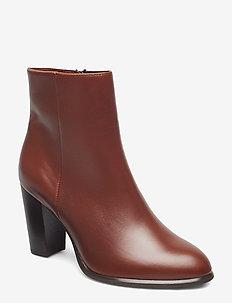 UGO_NE - ankle boots with heel - moka