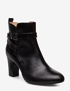 UMBRIA_NE - ankle boots with heel - black