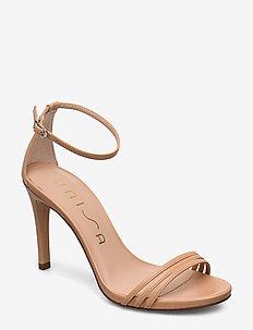 YADIN_NA - heeled sandals - suntan